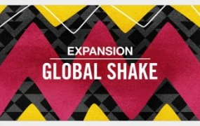 [Maschine 扩展]Native Instruments Maschine Expansion Global Shake 1.0.0 iSO