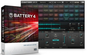 [鼓音源,鼓垫]Native Instruments Battery 4 [WIN]