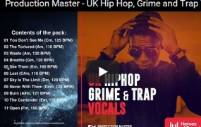 Production Master UK Hip Hop Grime And Trap Vocals WAV-DISCOVER