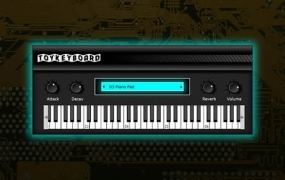 Toy Keyboard Plugin Released By SampleScience