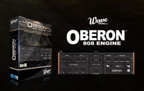 【808合成器】 Wavediggerz.Oberon.808.Engine