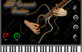 [尼龙吉他合成器]bigcat Instruments – MF Concert Guitar MAC/WIN